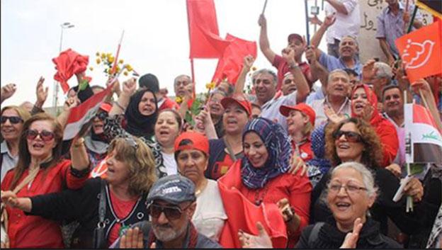 شعارات الذكرىالـ 86 لتأسيس الحزب الشيوعي العراقي